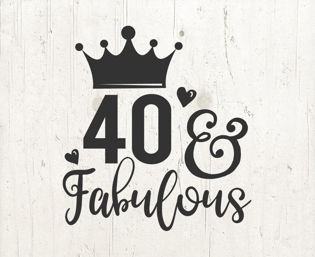40 години